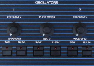 OB-Xa Detail VCO