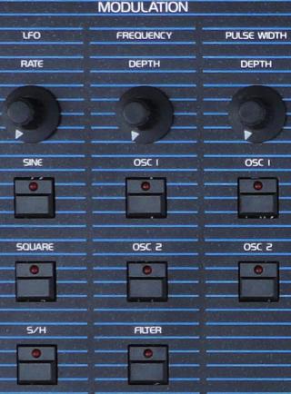 OB-Xa Detail LFO