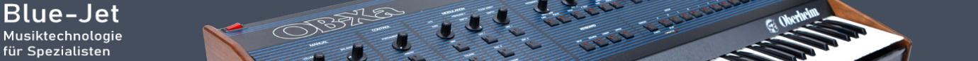Blue-Jet   Musiktechnologie für Spezialisten